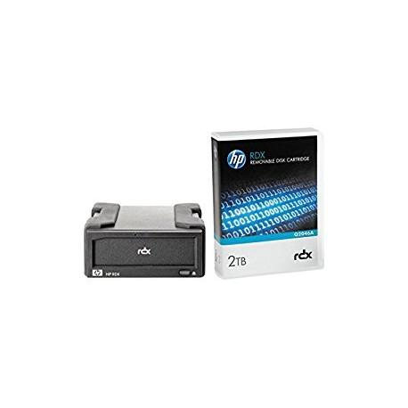 Hewlett Packard Enterprise - RDX+ 2TB RDX 2000GB unidad de cinta
