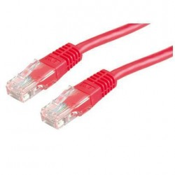 Nilox - 3.0m Cat6 UTP cable de red 3 m U/UTP (UTP) Rojo