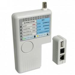 WP - WPC-TST-002 Blanco comprobador de cables de red