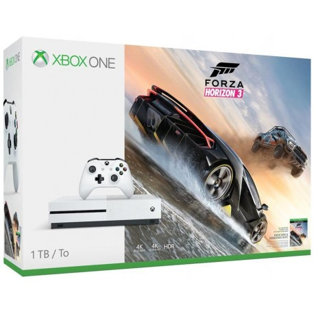 Microsoft - Xbox One S + Forza Horizon 3 1000GB Wifi Color blanco