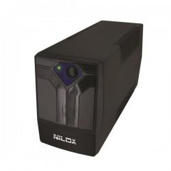 Nilox - 17NXGCOF02001 sistema de alimentación ininterrumpida (UPS) 350 VA 700 W 4 salidas AC