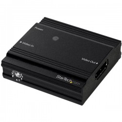 StarTech.com - Amplificador de Señal HDMI - Extensor Alargador HDMI 4K a 60Hz - Hasta 9 Metros con Cable Convencion