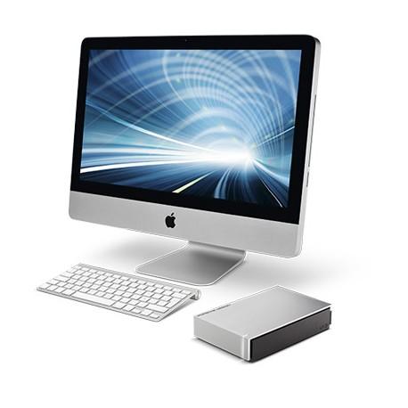 LaCie - Porsche Design Desktop Drive 8000GB Negro, Gris disco duro externo