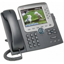 Cisco - Unified IP Phone 7975G Negro, Plata Identificador de llamadas