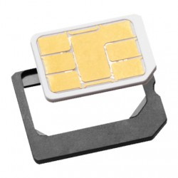 ISY - ISA 1100 SIM card adapter adaptador para tarjeta de memoria sim / flash
