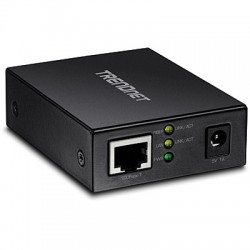 Trendnet - TFC-GSFP convertidor de medio 2000 Mbit/s Multimodo, Monomodo Negro