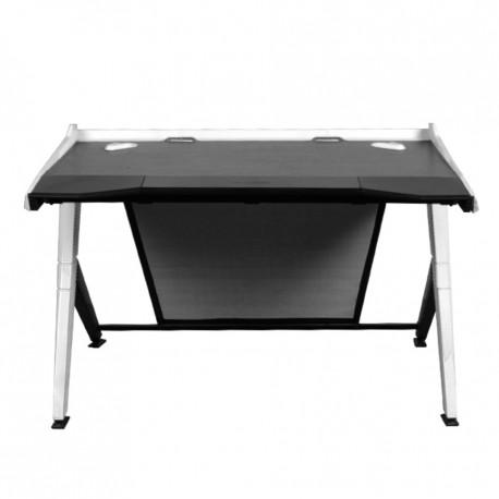 DXRacer - GD/1000/NW Negro, Color blanco escritorio para ordenador