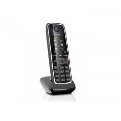 Gigaset - C530HX Teléfono DECT Negro, Plata Identificador de llamadas
