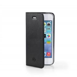 Celly - AIRIPH5BK Folio Negro funda para teléfono móvil