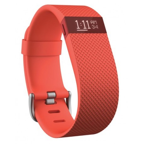 Fitbit - Charge HR Wristband activity tracker OLED Inalámbrico Naranja