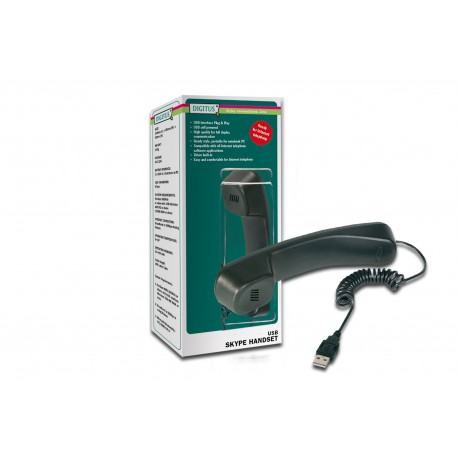ASSMANN Electronic - Skype USB Negro