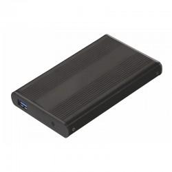 "TooQ - TQE-2524B Disco duro portátil 2.5"" Negro storage drive enclosure"
