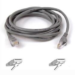 Belkin - 50m RJ-45 CAT-5e 0.5m Gris cable de red