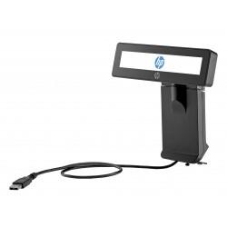 HP - Soporte superior para pantalla integrado 2x20 RP9 con brazo