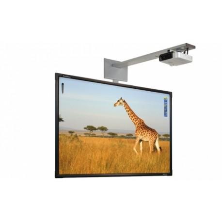"Promethean - ActivBoard Touch 78"" 32767 x 32767Pixeles Pantalla táctil USB Negro, Color blanco pizarra y accesorios"