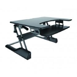 Newstar - NS-WS100BLACK estacion de trabajo sentado o de pie