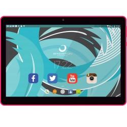 Brigmton - BTPC-1019 tablet Allwinner A33 16 GB Negro, Rosa