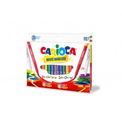 Carioca - Magic Markers Extra-grueso Multicolor 20pieza(s) rotulador