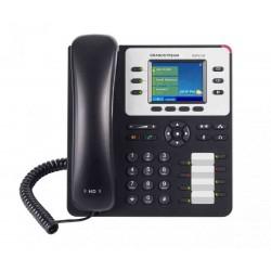 Grandstream Networks - GXP2130 v2 Terminal con conexión por cable 3líneas TFT Negro, Gris teléfono IP
