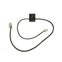 Plantronics - 86007-01 cable telefónico Negro