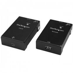 StarTech.com - Extensor Alargador de 1 Puerto USB 2.0 por Cable Cat5 o Cat6 - 50m