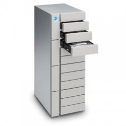 LaCie - 96TB 12big Thunderbolt 3 unidad de disco multiple Escritorio Plata