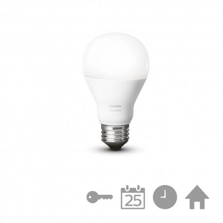 Philips - hue White Bombilla individual E27 8718696449578