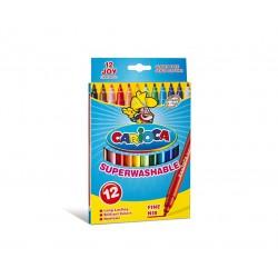 Carioca - Joy Fino Multicolor 12pieza(s) rotulador