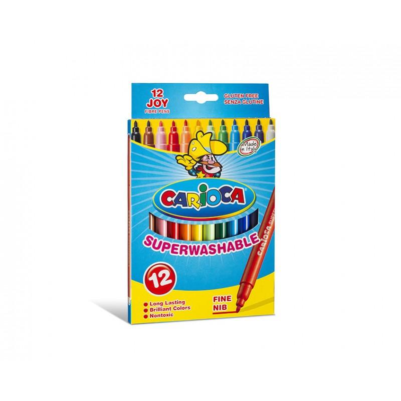 Carioca - Joy Fino Multicolor 12pieza(s)