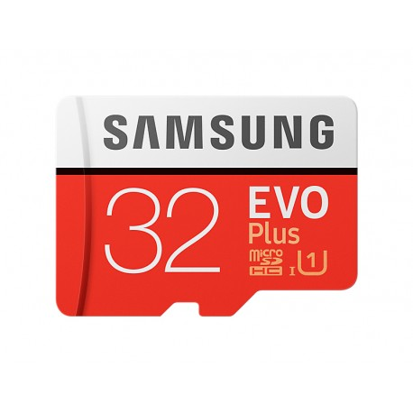 Samsung - EVO Plus MB-MC32G 32GB MicroSDHC UHS-I Clase 10 memoria flash