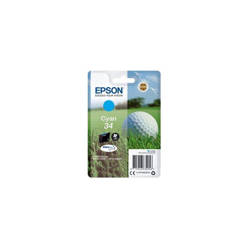 Epson - Golf ball Singlepack Cyan