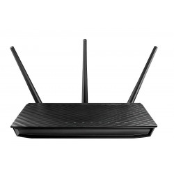 ASUS - RT-AC66U router inalámbrico Doble banda (2,4 GHz / 5 GHz) Gigabit Ethernet