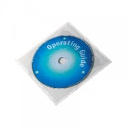 Durable - DUR P.100 FUNDA ADHES.CD C/SOL .148280-19