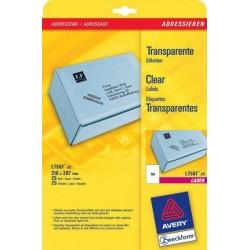 Avery - L7567-25 etiqueta de impresora