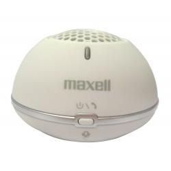 Maxell - MXSP-BT01 2 W Altavoz monofónico portátil Blanco