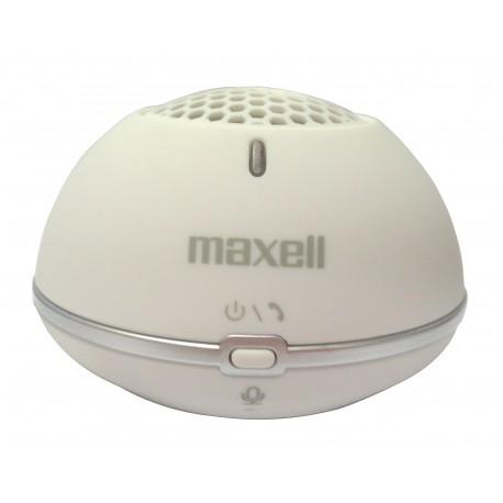 Maxell - MXSP-BT01 Mono portable speaker 2W Blanco