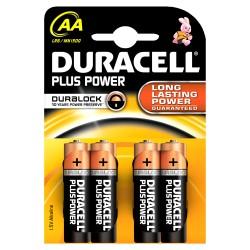 Duracell - Plus Power Batería de un solo uso AA Alcalino