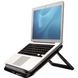"Fellowes - 8212001 soporte para ordenador portátil 43,2 cm (17"") Negro, Gris"