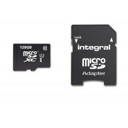 Integral - INMSDX128G10-80/25U1 128GB MicroSDXC UHS-I Clase 10 memoria flash