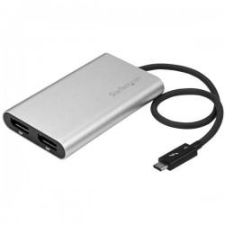 StarTech.com - Adaptador Thunderbolt 3 a DisplayPort Doble - 4K 60Hz
