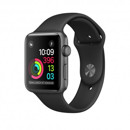 Apple - Watch Series 1 OLED Gris reloj inteligente