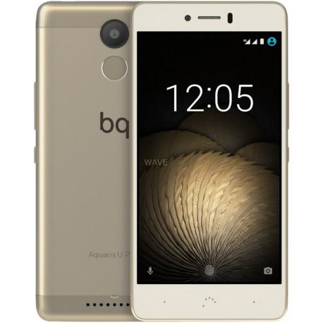 bq - Aquaris U Plus SIM doble 4G 16GB Oro