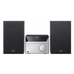 Sony - CMTSBT20 sistema de audio para el hogar Microcadena de música para uso doméstico Negro, Plata 12 W