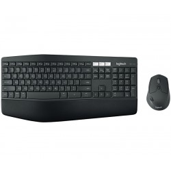 Logitech - MK850 RF Wireless + Bluetooth QWERTY Español Negro
