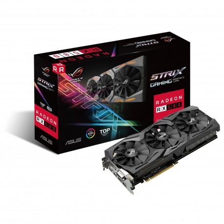 ASUS - ROG-STRIX-RX580-T8G-GAMING Radeon RX 580 8GB GDDR5