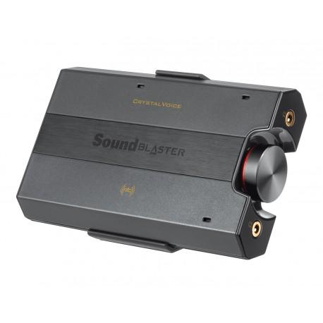 Creative Labs - Sound Blaster E5 24bit@192Khz Negro amplificador para audífono