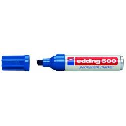 Edding - 500 Permanent Marker Blue (10) marcador permanente