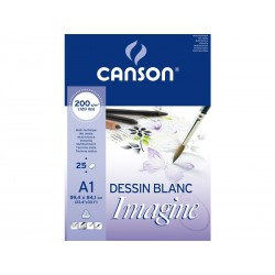 Canson - CAN BLOC IMAGINE 25H A1 200G 200005969