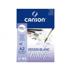 Canson - CAN BLOC IMAGINE 50H A2 200G 200006003