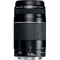 Canon - EF 75-300mm f/4.0-5.6 III SLR Teleobjetivo Negro